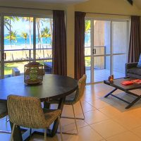 holiday home unit beach mission beach honeymoon accommodation Spa luxury apartment