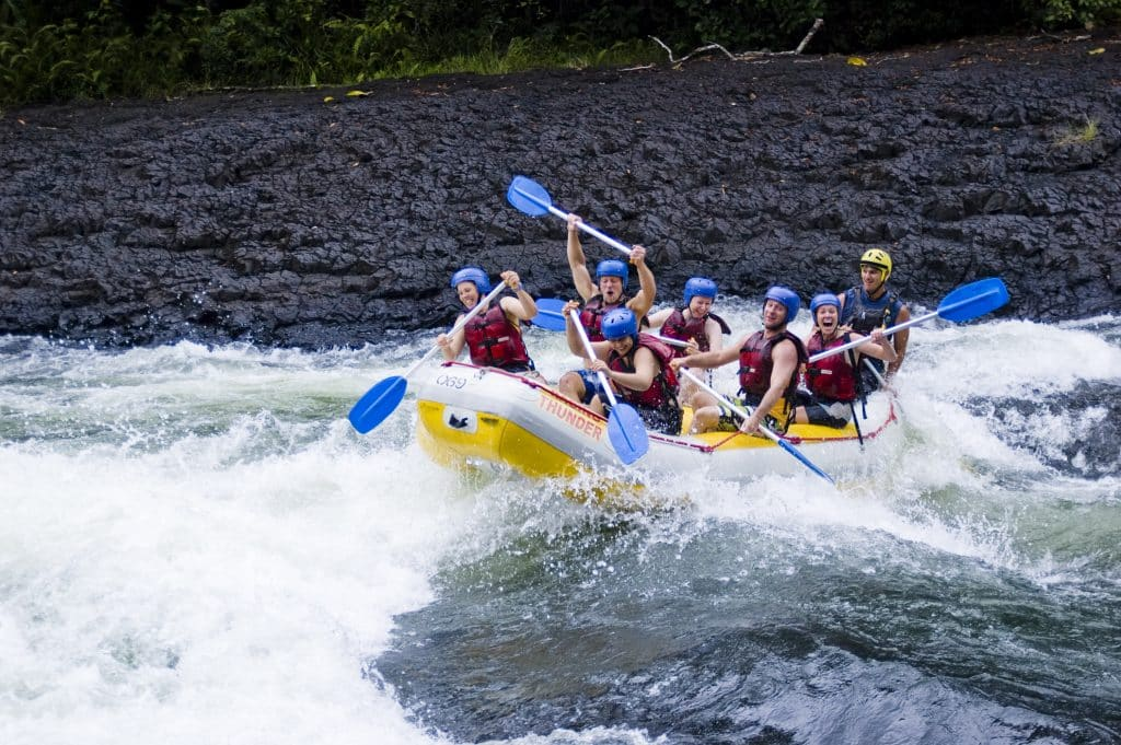 2 night river rafting package tully mission beach castaways trips adventure raging thunder